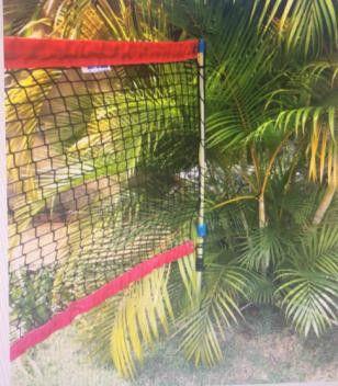 POSTE PARA BEACH TENNIS - Portatil - Retrátil