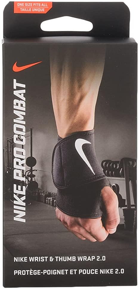 Protetor de Pulso Nike Pro Wrist e Thumb Wrap 2.0