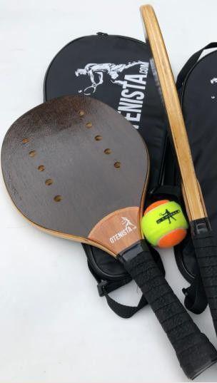 Raquete de Beach Tenis Kit-Pró + Bolsa