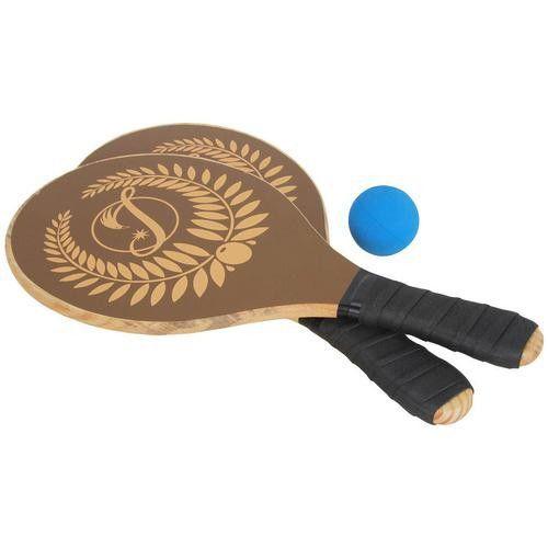 Raquete de Frescobol Impar - Madeira (Raquetes + Bola)