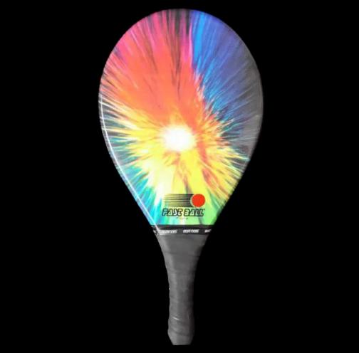 Raquete de Frescobol Profissional - Fibra Colors