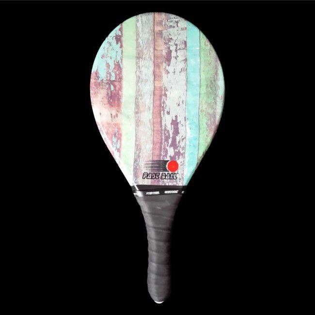 Raquete de Frescobol Profissional - Fibra Rustico