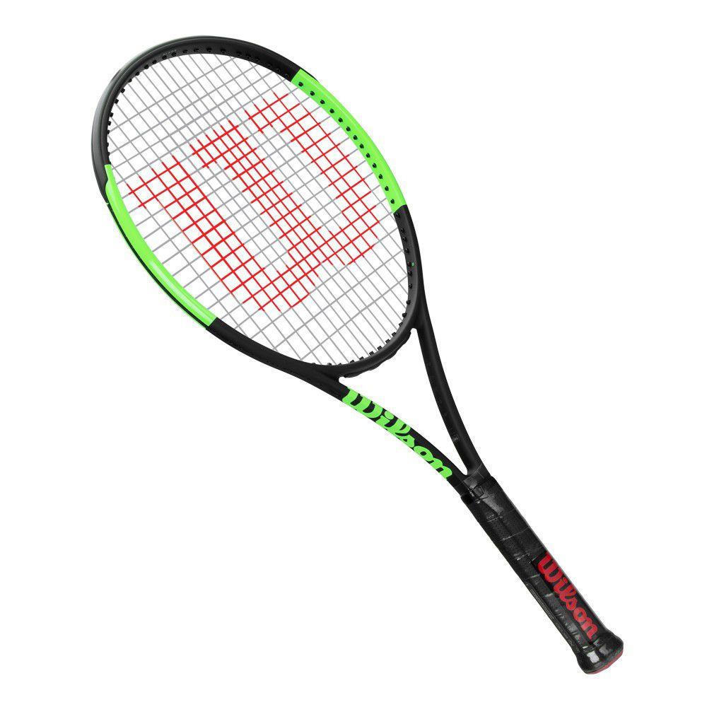 Raquete de Tênis Wilson Blade 98 18X20 Countervail Preto/Verde