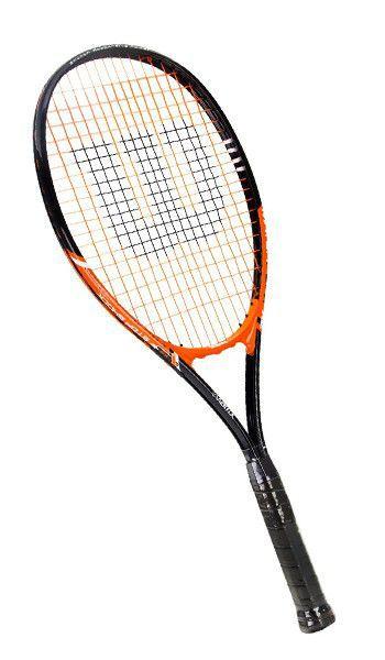 Raquete de Tenis Wilson Matchpoint XL Preta/Laranja