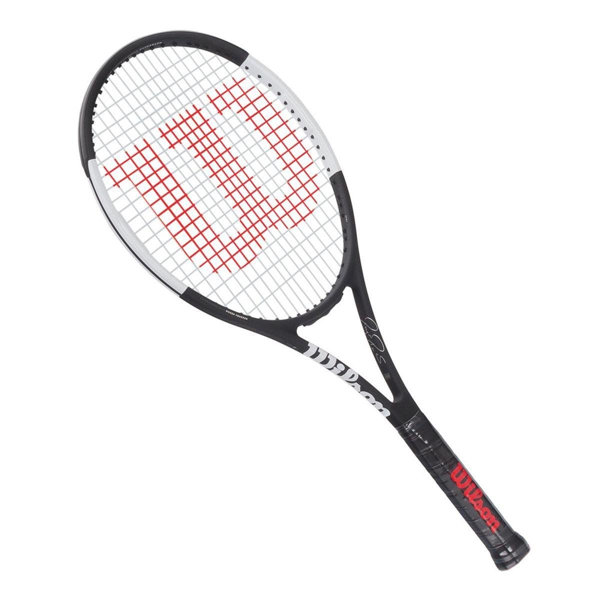 Raquete de Tenis Wilson Pro Staff RF 97 Autograph Preta/Branca