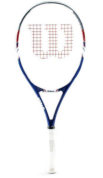 Raquete de Tênis Wilson US Open Azul/Branco