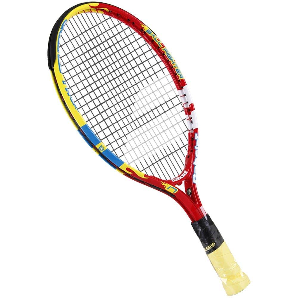 Raquete de Tennis Infantil Babolat Ballfighter 17 80cm - Vermelho+Amarelo