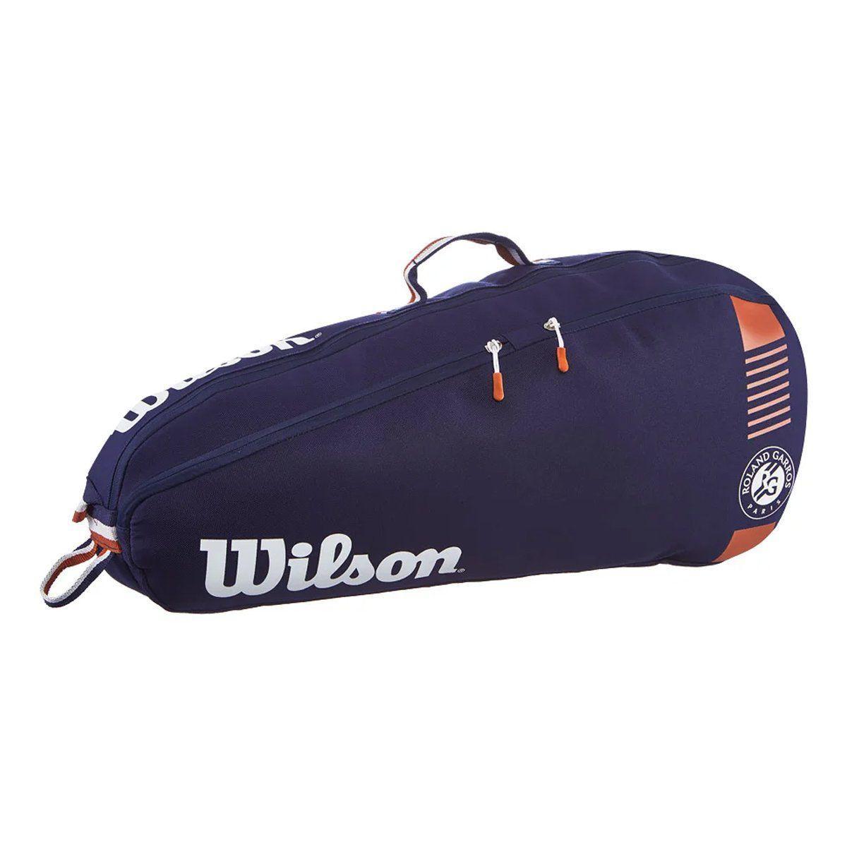 Raqueteira Wilson Roland Garros Team Azul Marinho - 3R