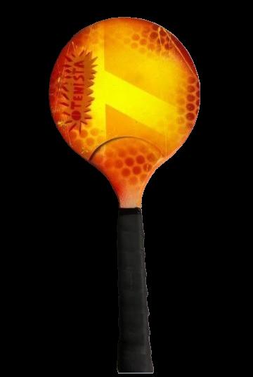 Raquetinha Mini Tenis - Pintura Especial
