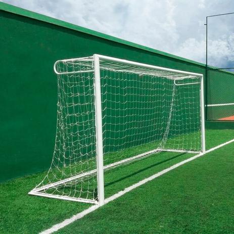 Rede de Futebol Society Tradicional Fio 2,5mm - 2,30 X 4,20 M (01 Par)