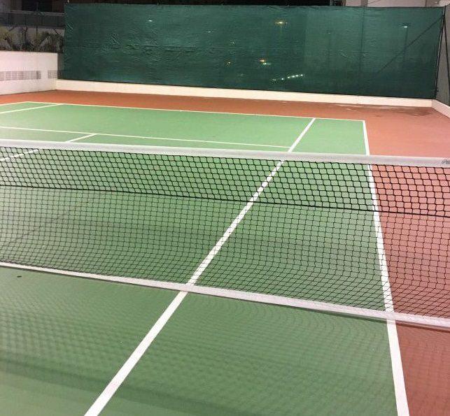 Rede de Tenis Oficial 4 Lonas Saque Duplo Reforçada