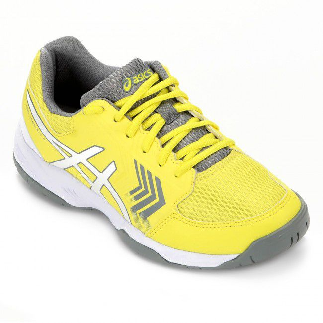 Tenis Asics Gel Dedicate 5A Sour Amarelo/Branco