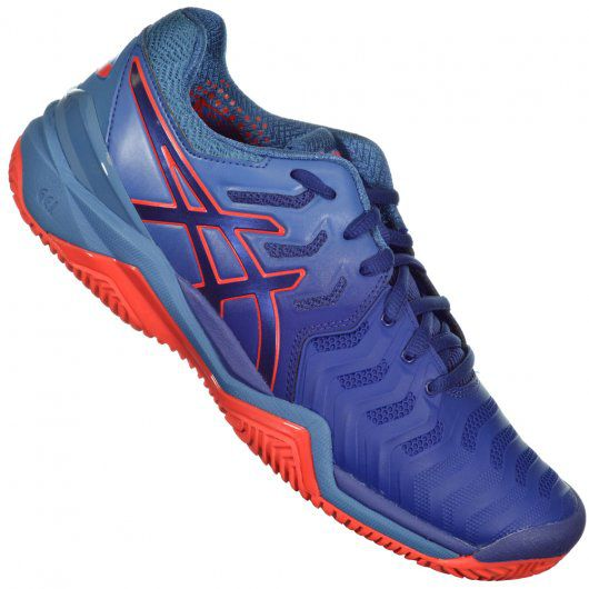 Tenis Asics Gel Resolution 7 - Azul