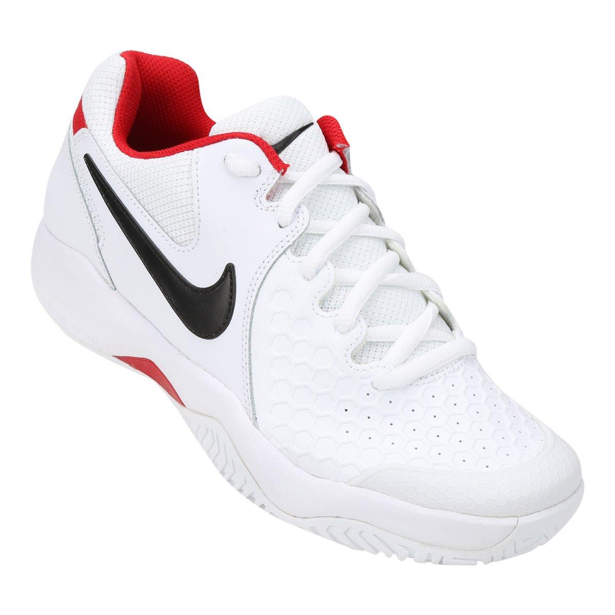 Tenis Nike Air Zoom Branco e Vermelho