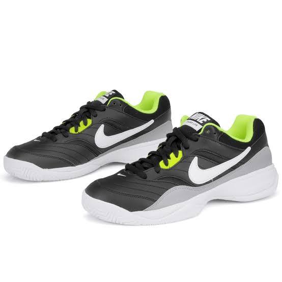 Tênis Nike Court Lite Preto/Branco/Verde