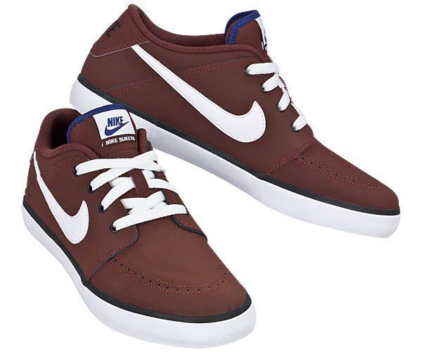 Tênis Nike Suketo Leather - Bordo/Bco