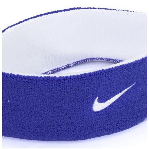 Testeira Nike Dupla Face Dri-Fit Royal - Branca e Azul