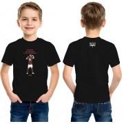 Camiseta Infantil - Artilheiro da Nação