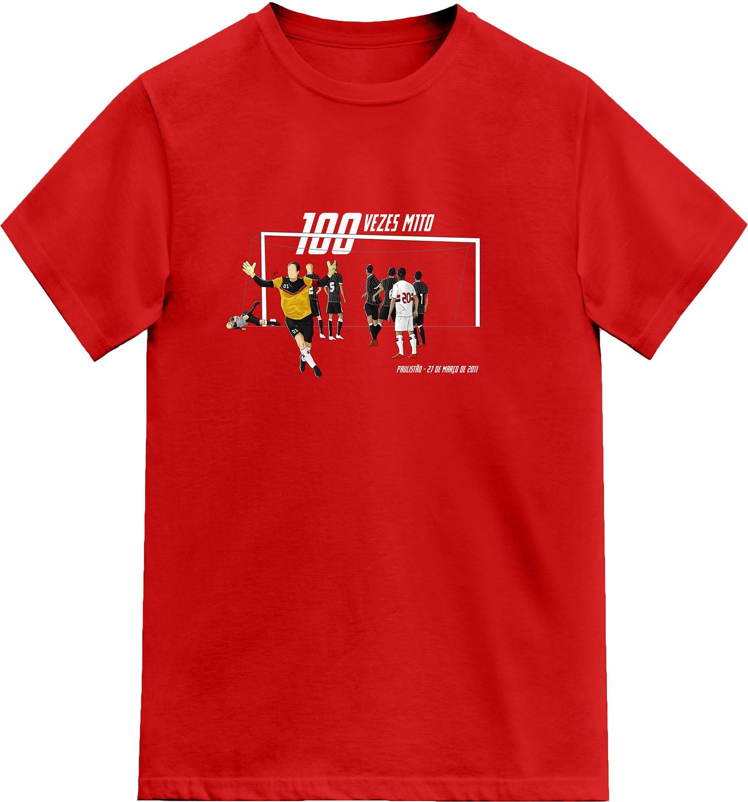 Camiseta 100 Vezes M1TO