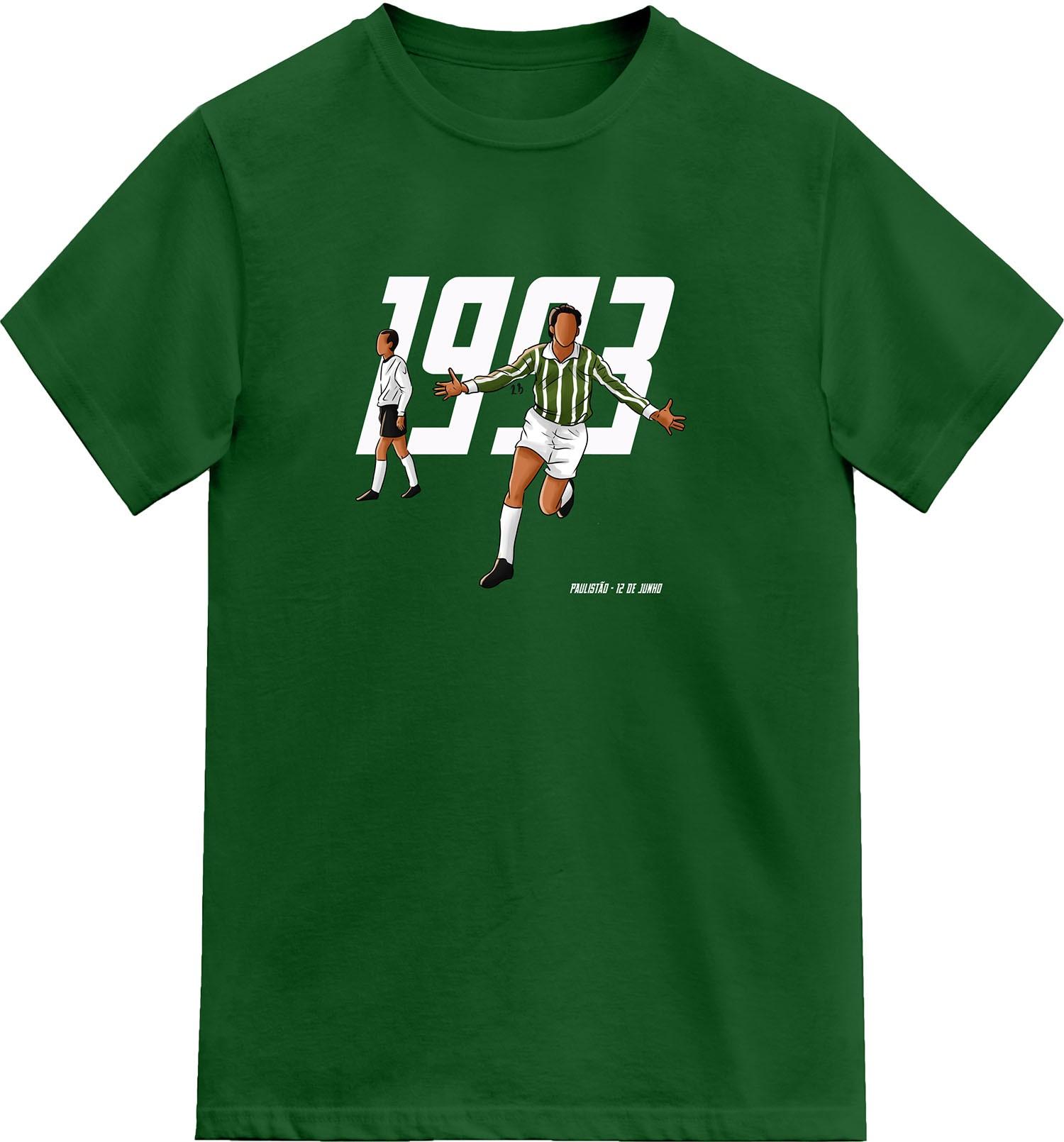 Camiseta 1993 O Retorno de um Gigante