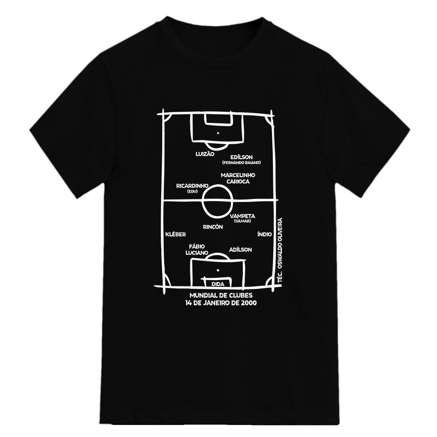 Camiseta 1º Campeão Mundial da FIFA 2000