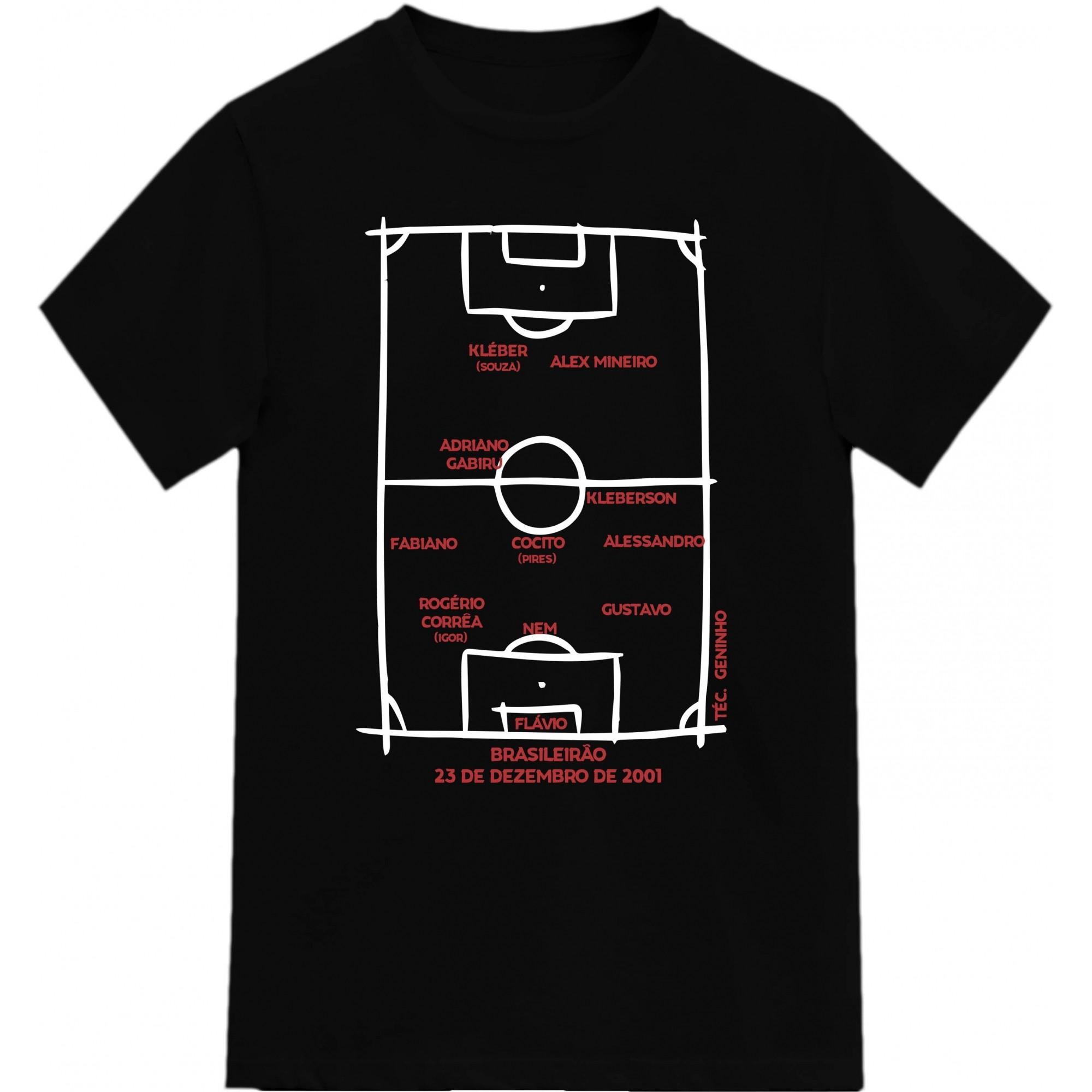 Camiseta Campeão Brasileiro 2001