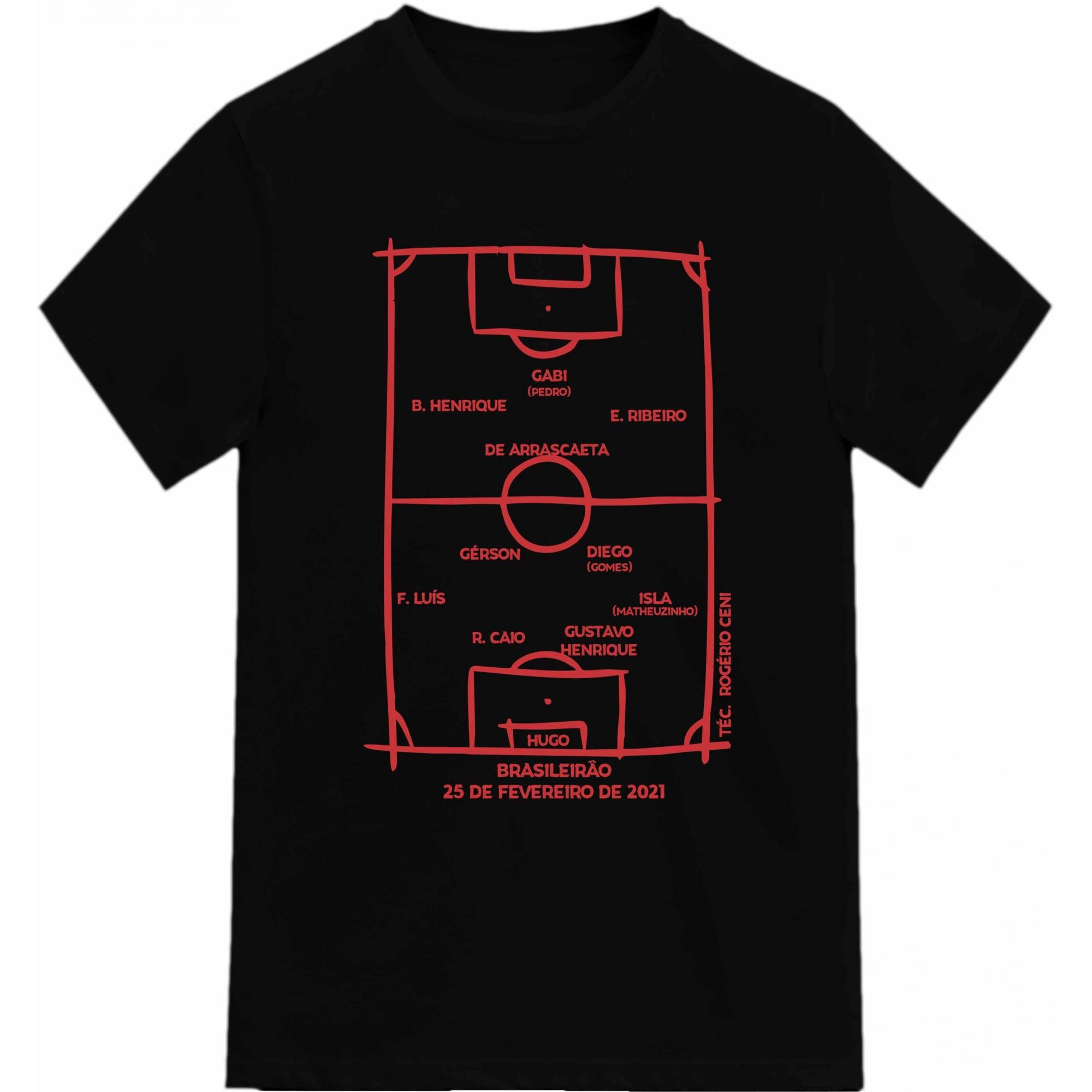 Camiseta Campeão Brasileiro 2020