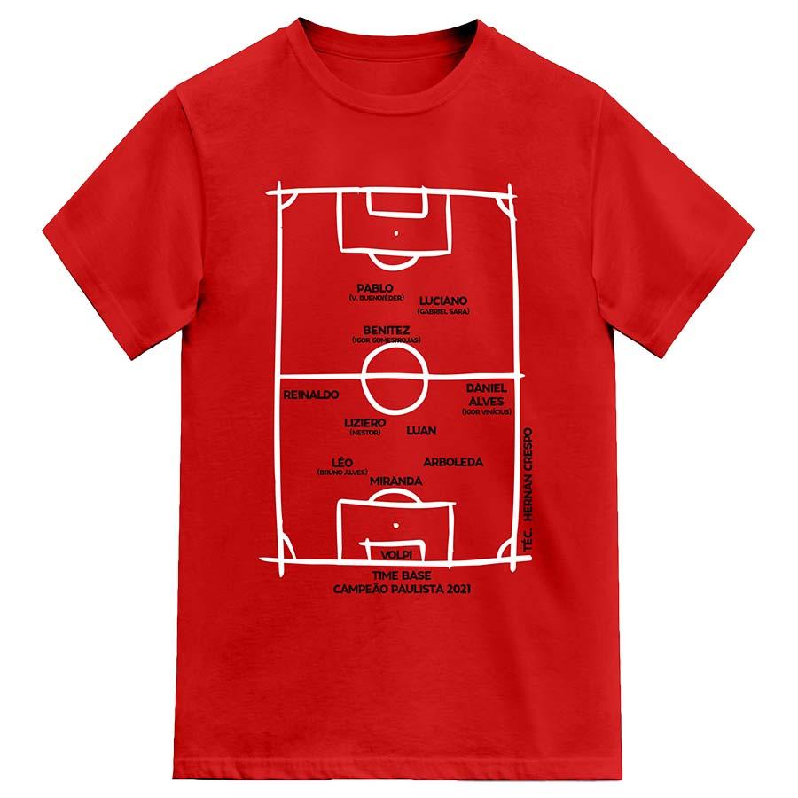 Camiseta Campeão Paulista 2021