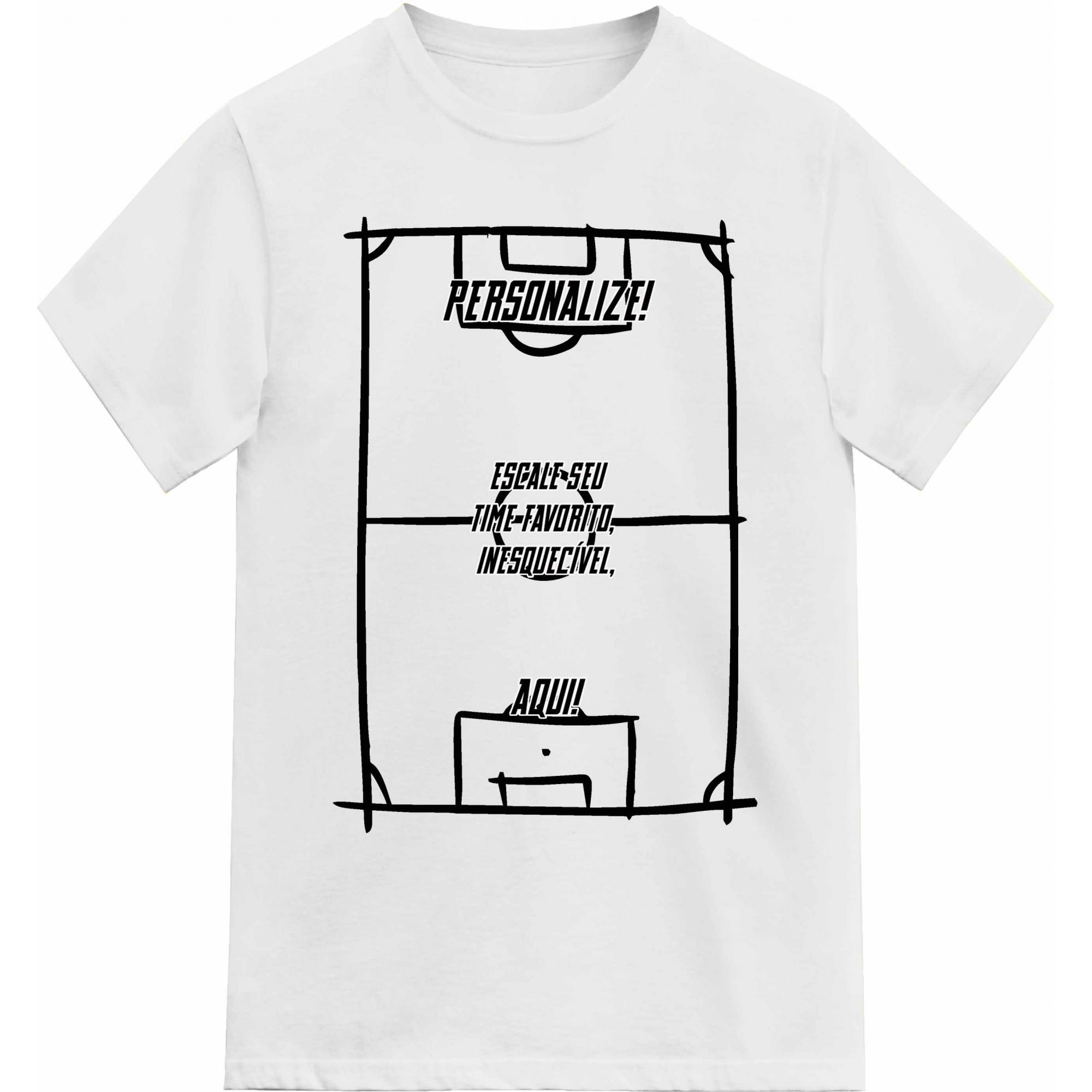 Camiseta Personalizada Escale seu Time