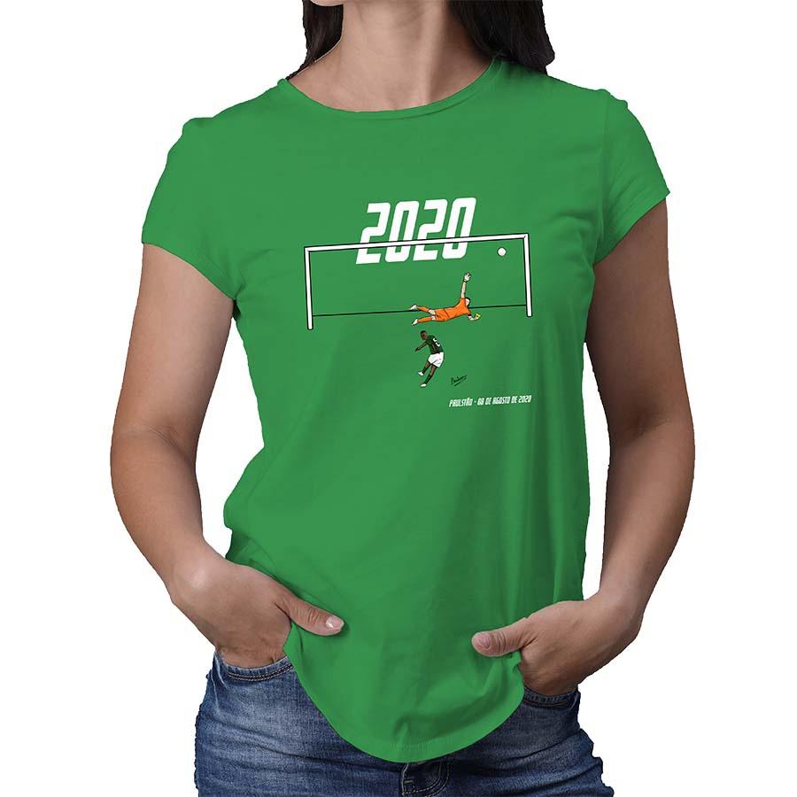 Camiseta Feminina Dono do Derby Paulistão 2020