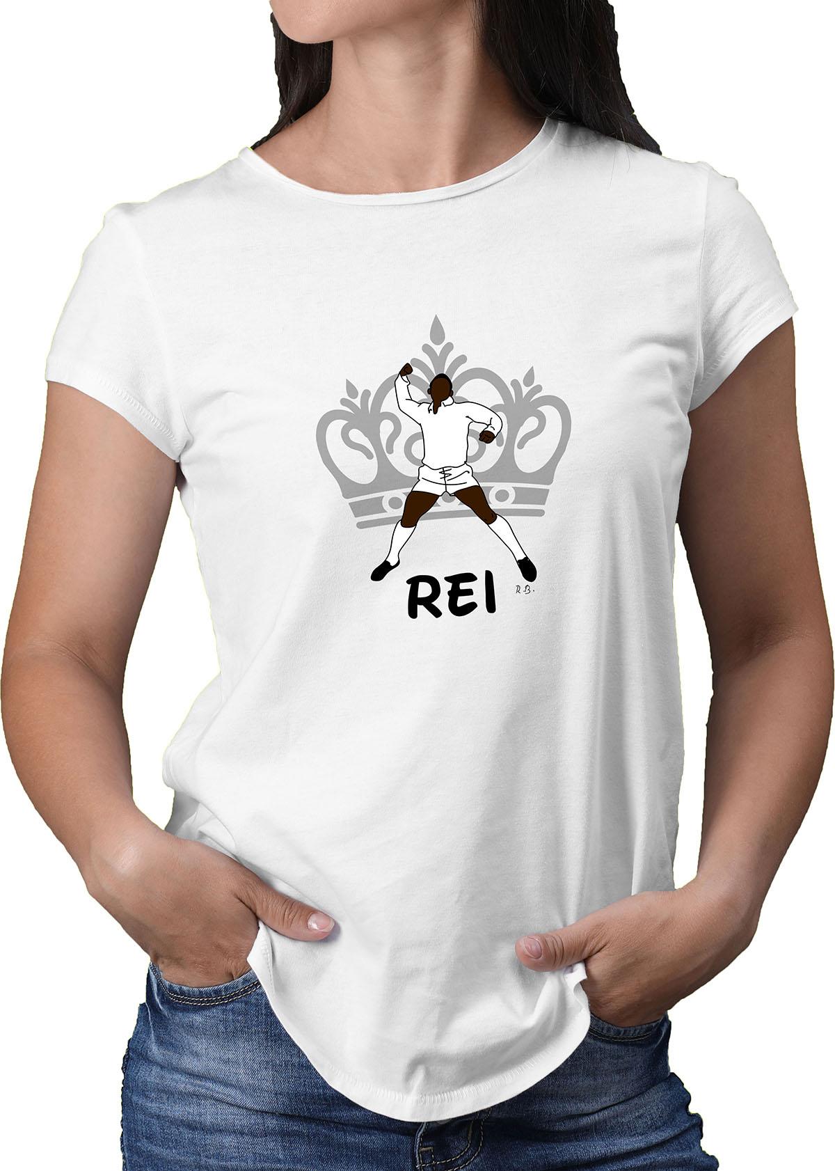 Camiseta Feminina O Rei