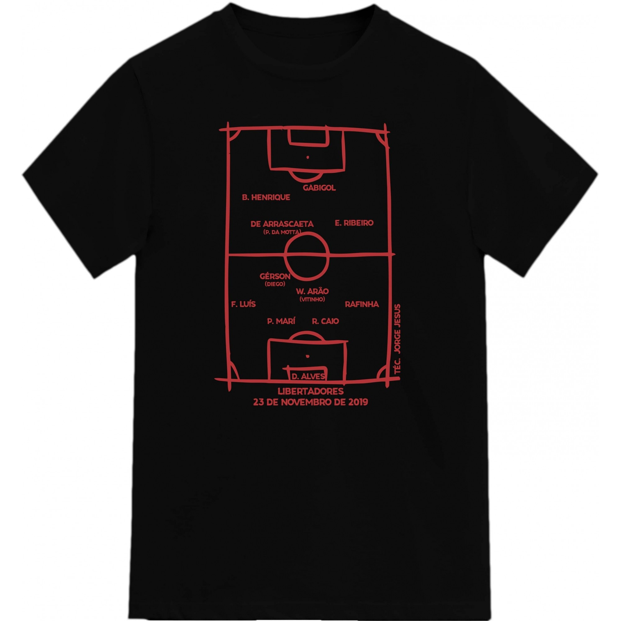 Camiseta Campeão Libertadores 2019