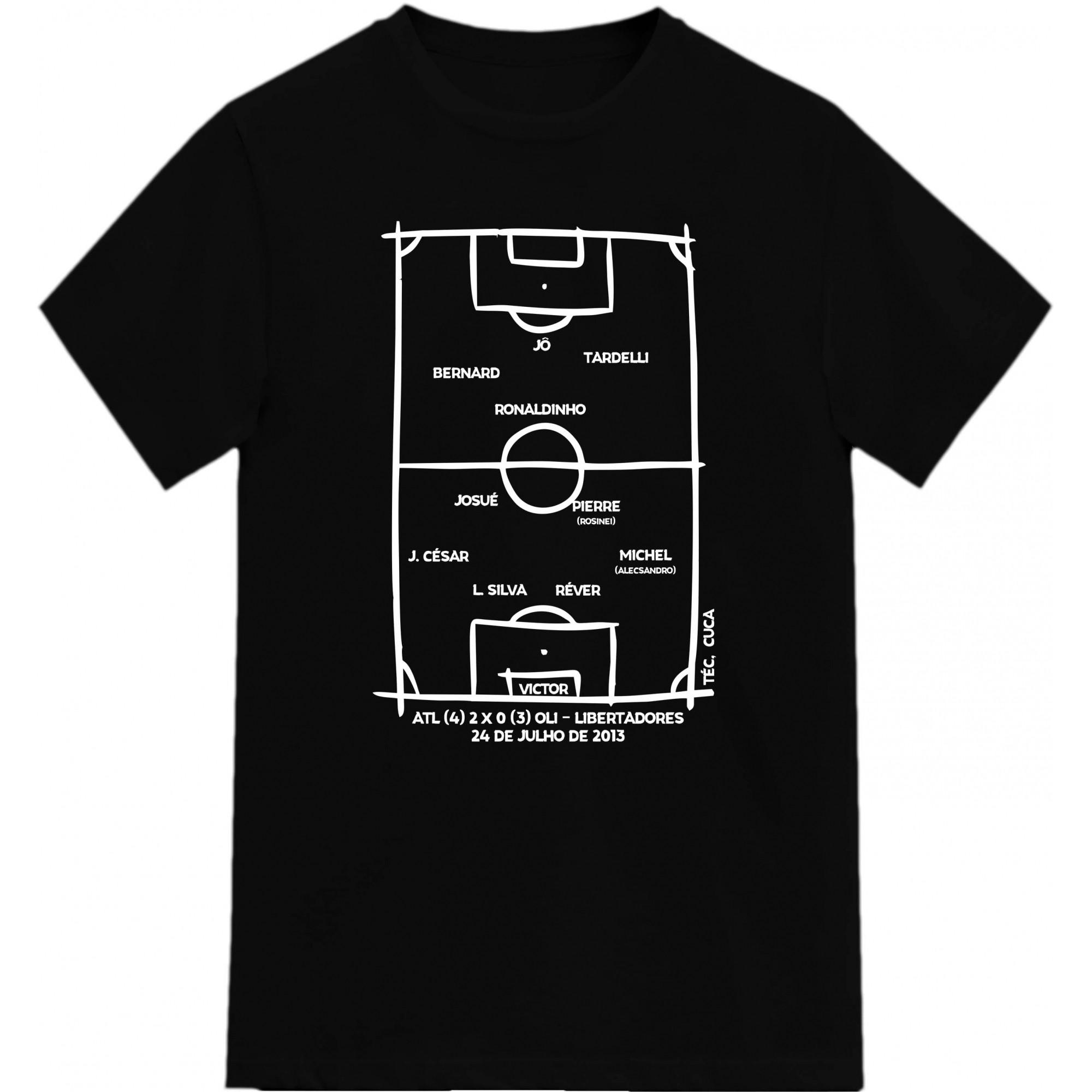 Camiseta Campeão Libertadores 2013