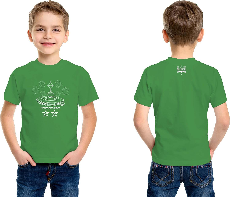 Camiseta Infantil A Glória Eterna Alviverde 2020