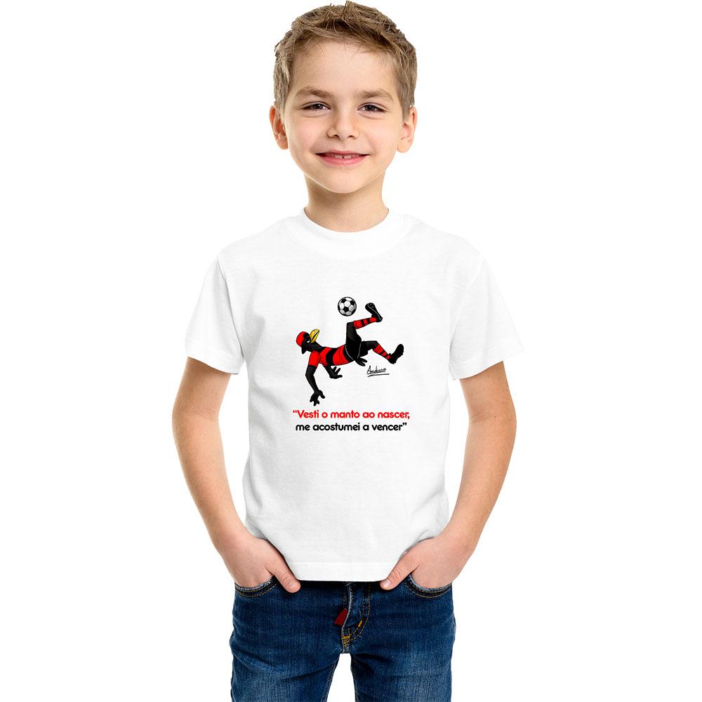 Camiseta Infantil Mascote Mengo