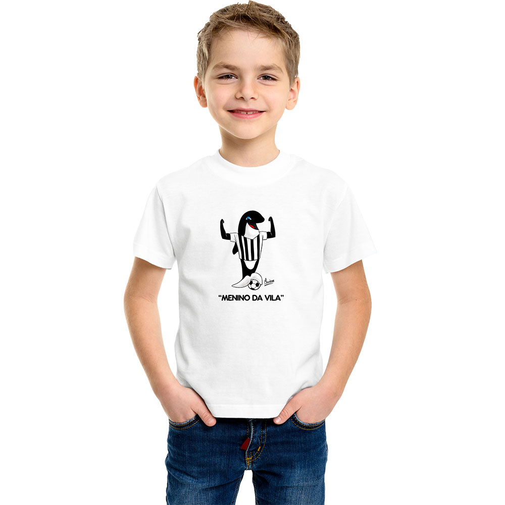 Camiseta Infantil Mascote Peixe