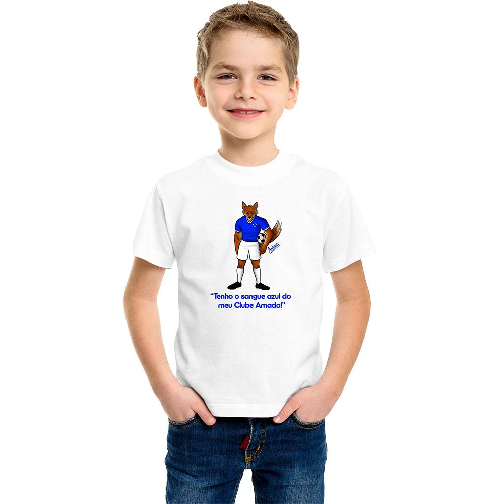 Camiseta Infantil Mascote Raposa