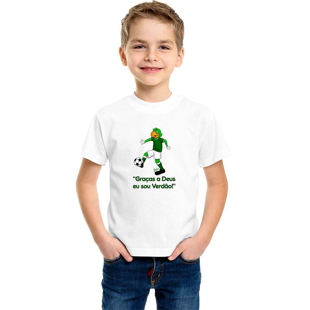 Camiseta Infantil Mascote Verdão