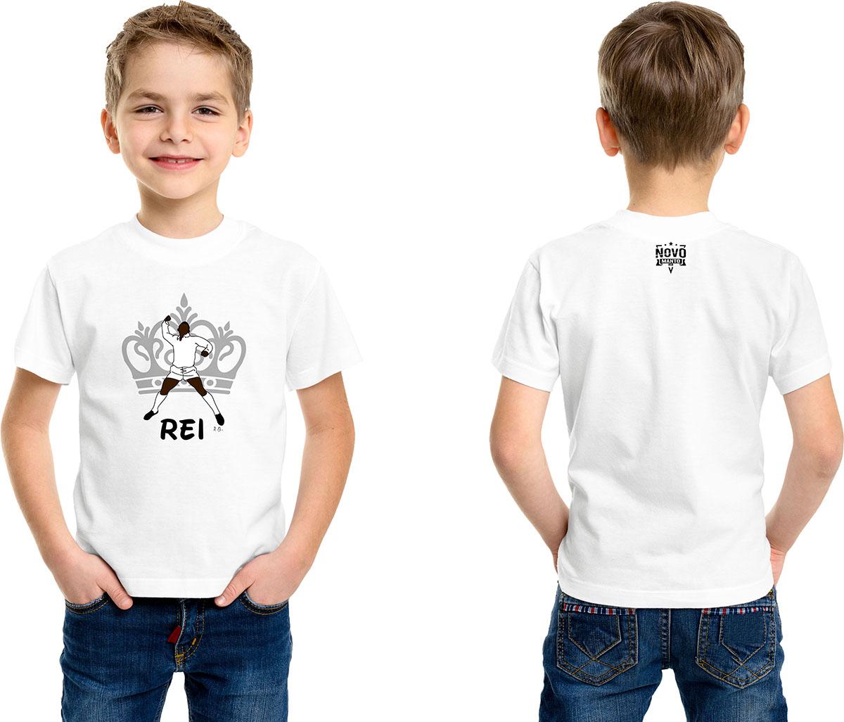 Camiseta Infantil O Rei
