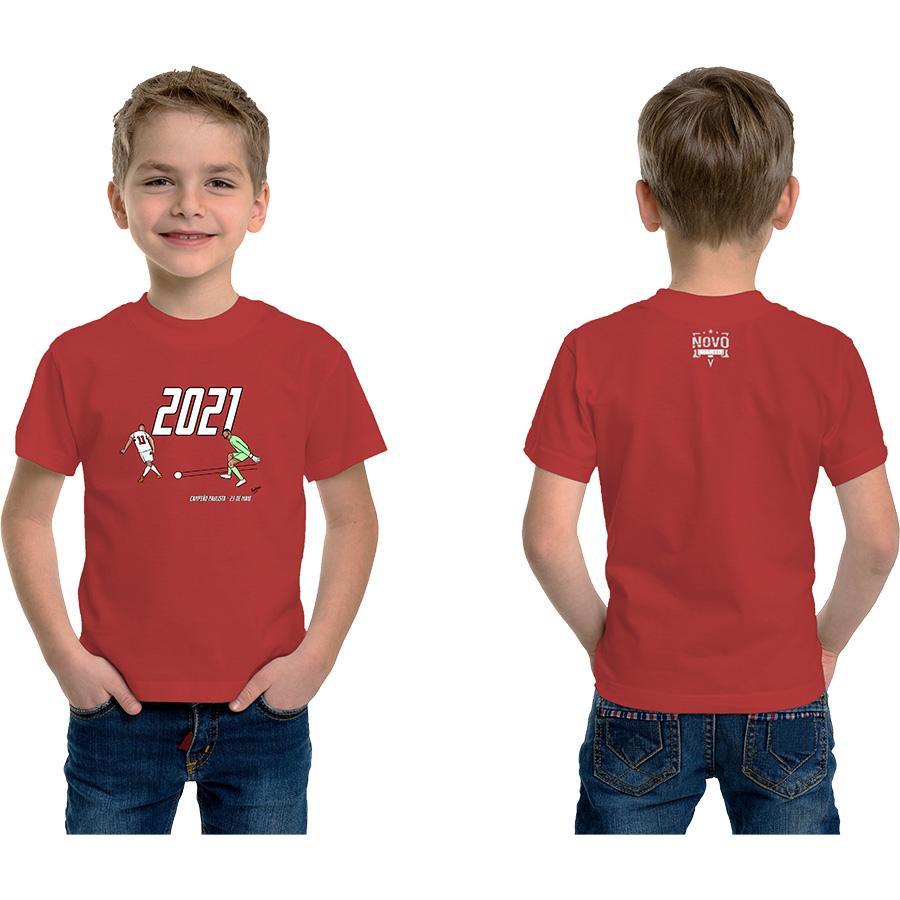 Camiseta Infantil Renascimento Tricolor Paulistão 2021