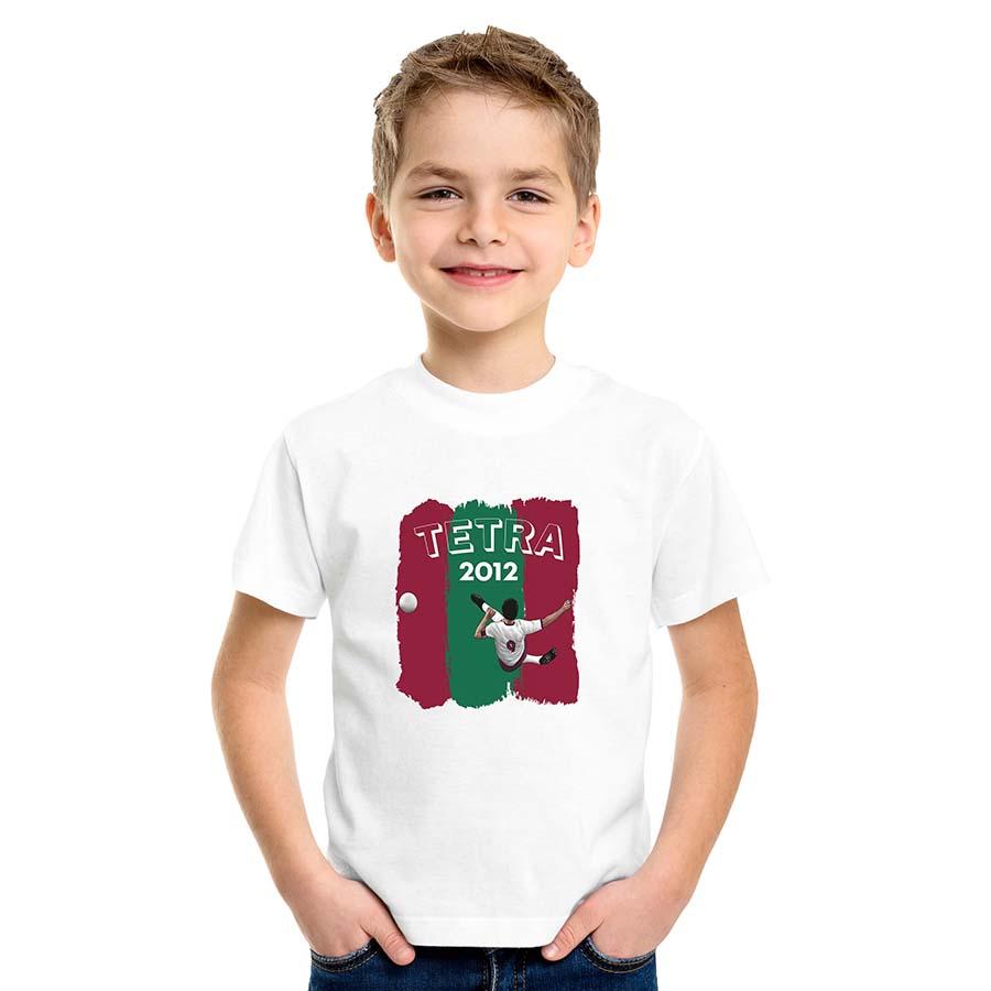 Camiseta Infantil Voleio Pro Tetra
