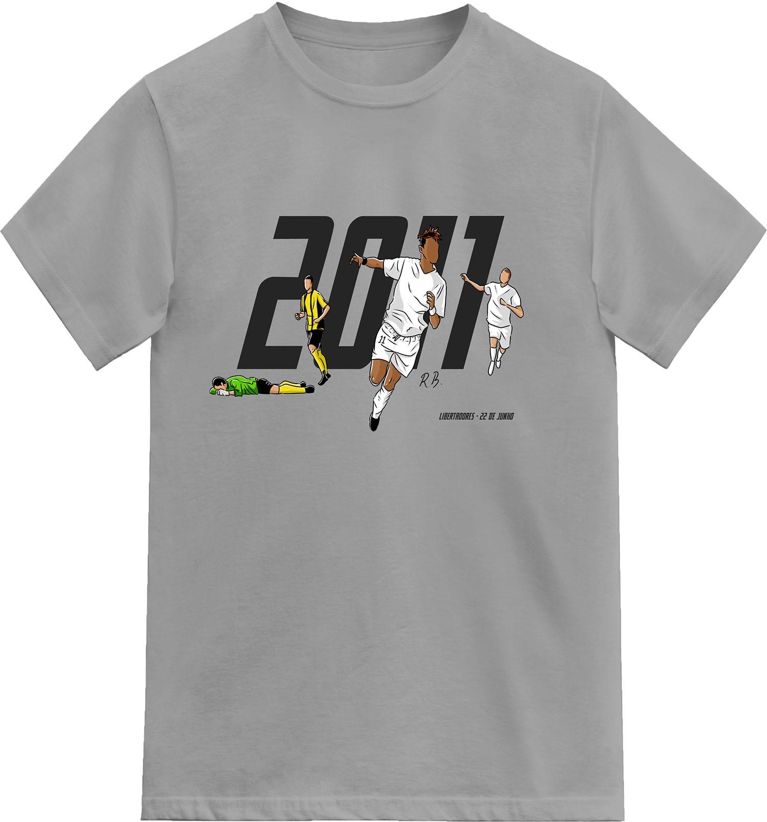 Camiseta - Meninos da Vila e da América