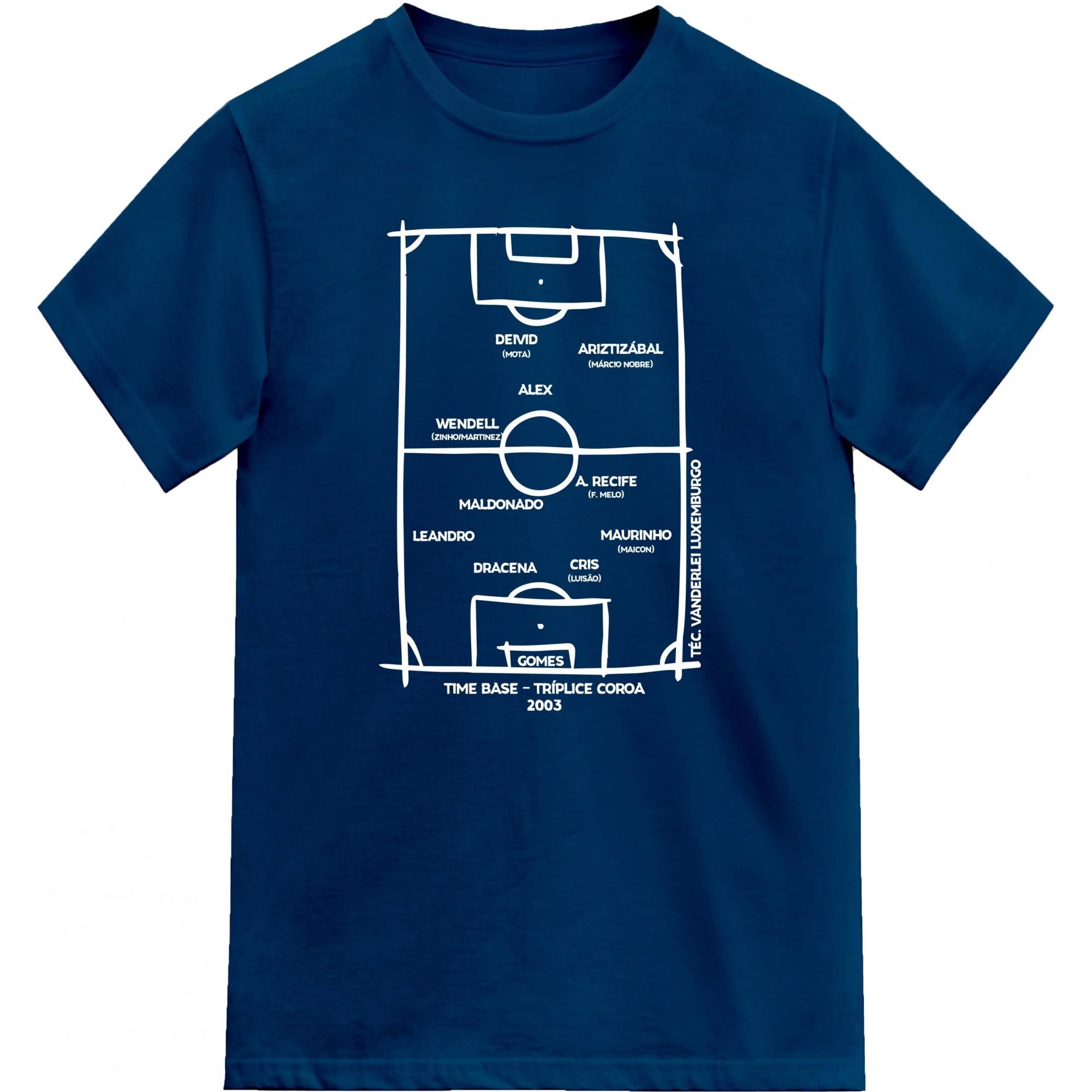 Camiseta Tríplice Coroa 2003