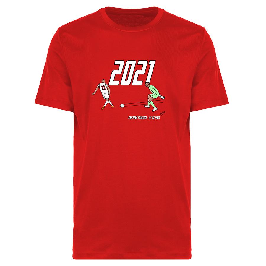 Camiseta Renascimento Tricolor Paulistão 2021