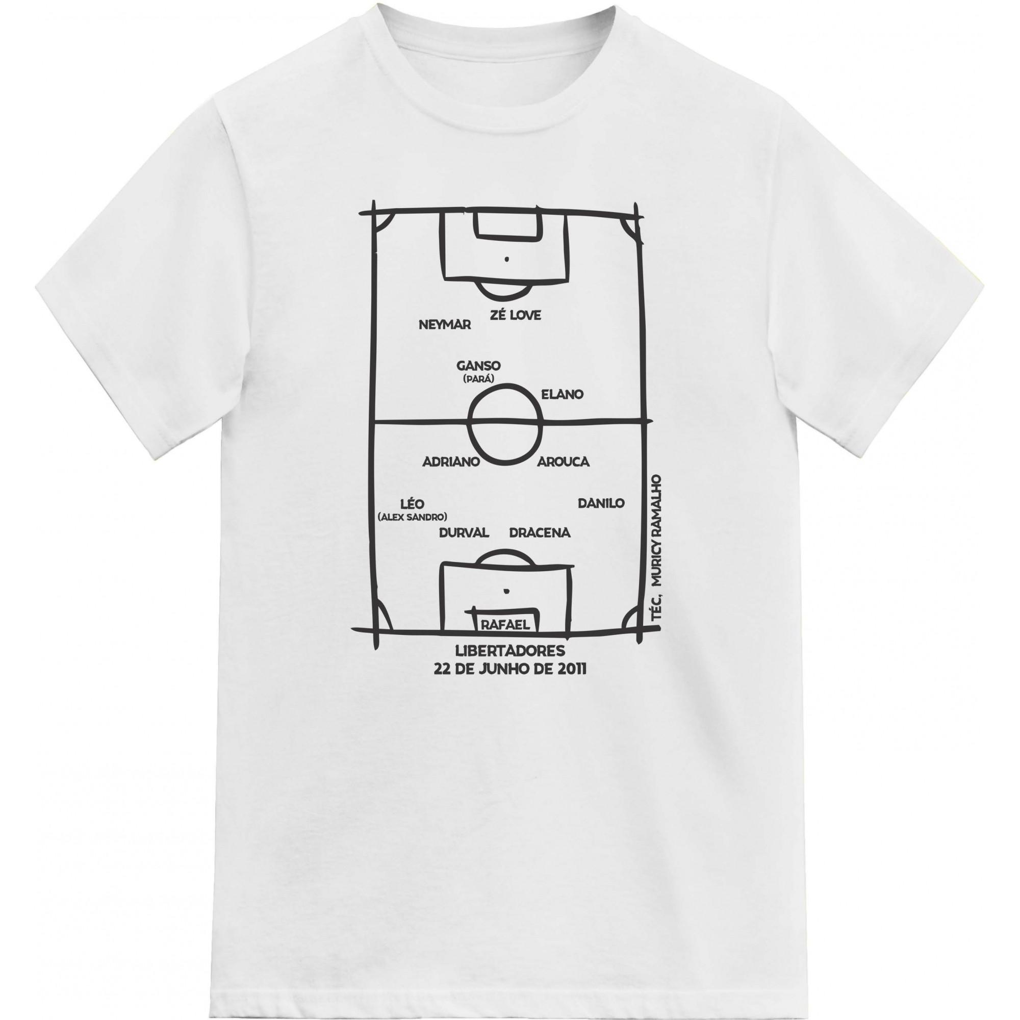Camiseta Campeão Libertadores 2011