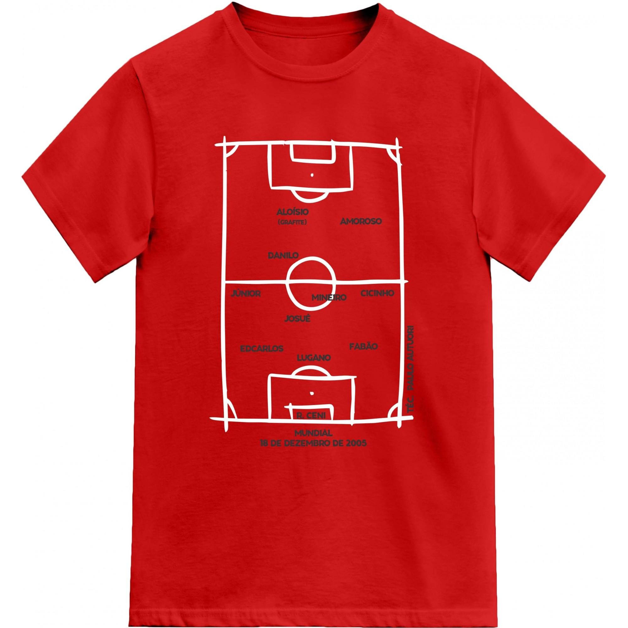 Camiseta Campeão Mundial 2005