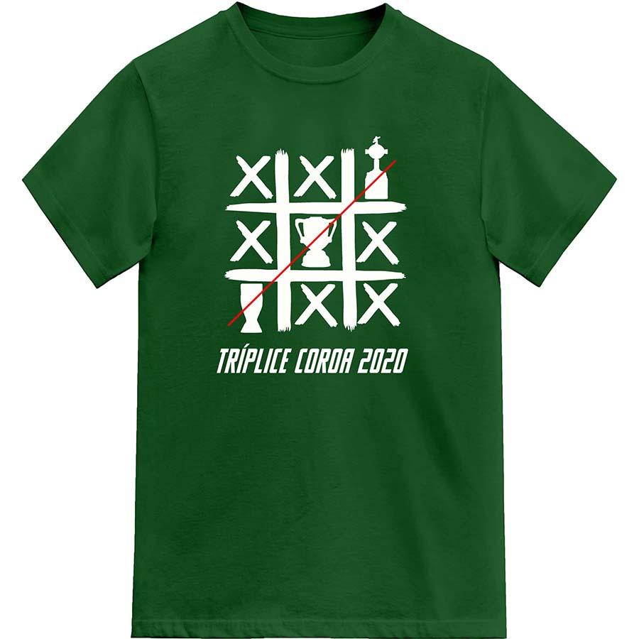 Camiseta Tríplice Coroa Alviverde 2020