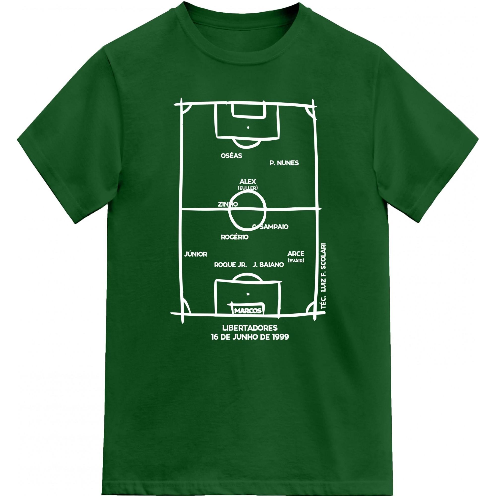 Camiseta Campeão Libertadores 1999