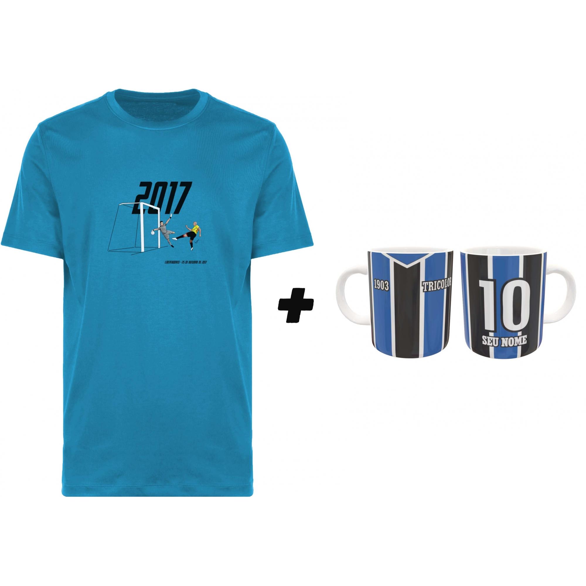 Kit Camiseta + Caneca Tricolor Imortal