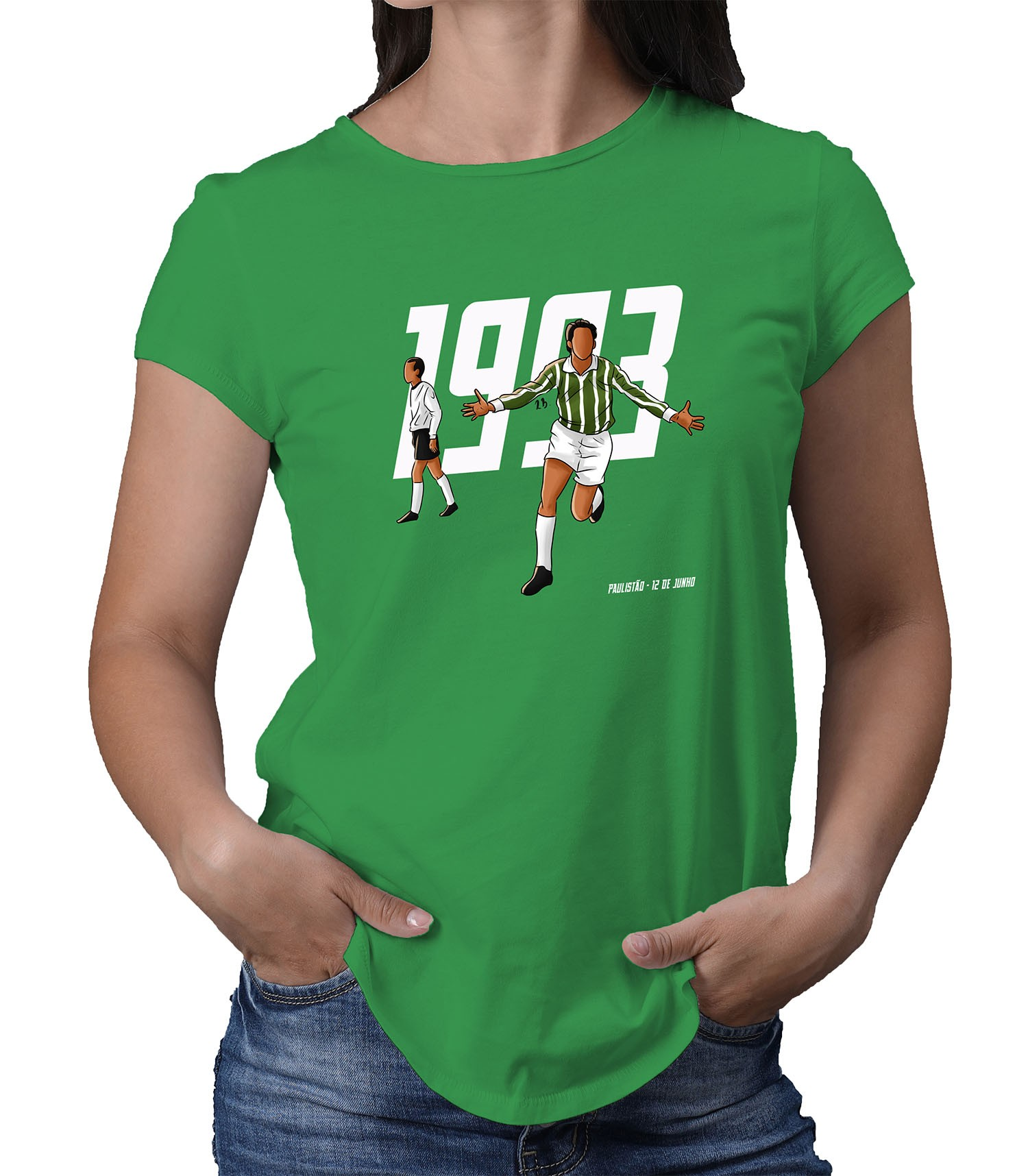 Camiseta Feminina 1993 O Retorno de um Gigante